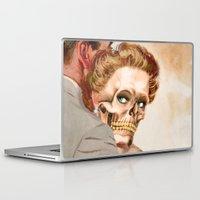 ginger Laptop & iPad Skins featuring GINGER by Julia Lillard Art