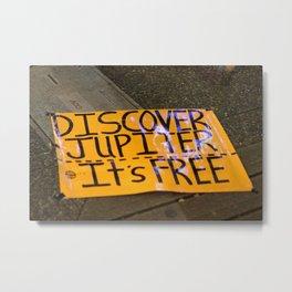 Discover Jupiter Granville St Vancouver Metal Print