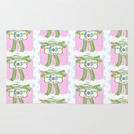 Holiday Gift - pink Rug