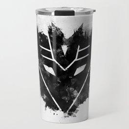 Decepticon Black Travel Mug