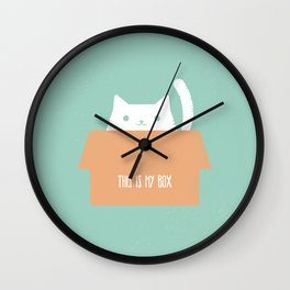 This is My Box Wall Clock