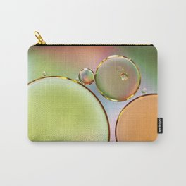 Oil On Water Edged With Gold Carry-All Pouch