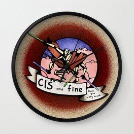 CIS Wall Clock