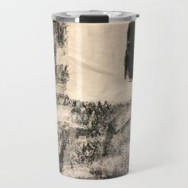 Abstract Square Travel Mug