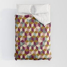 Cubic Pattern Comforters
