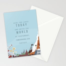"Minimalist Magic-""Leave Today"" DAY Stationery Cards"