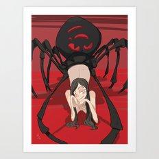 Spider Girl Art Print
