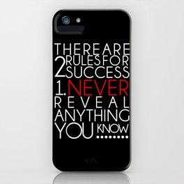 SUCCESS iPhone Case