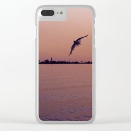 Fight to the Island Clear iPhone Case