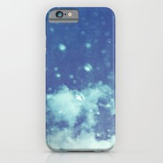 Blue and purple bubble clouds II Slim Case iPhone 6s