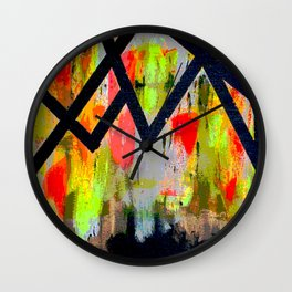 Polarized Wings Wall Clock