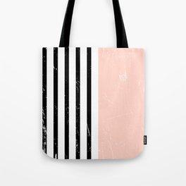 Minimalism Pattern | Blush | Millennial Pink | Modern | Geometric Tote Bag