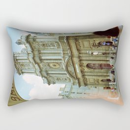 Paris in 35mm Film: Eglise Saint-Paul-Saint-Louis in Le Marais Rectangular Pillow