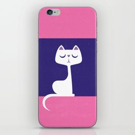 Cat in a window iPhone Skin