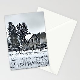 A Hazy Shade Of Winter  - Graphic 3 Stationery Cards