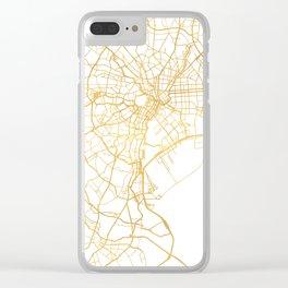 TOKYO JAPAN CITY STREET MAP ART Clear iPhone Case