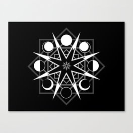 Wheel of Time One Canvas Print