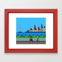 Ask Gary Vee Show - NES Punch Out Training Framed Art Print