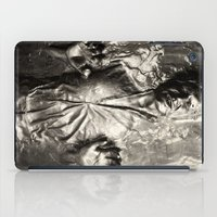 han solo iPad Cases featuring Han Solo carbonite by Ferdinand Bardamu