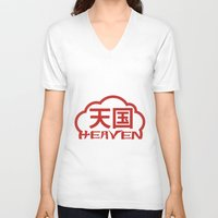 heaven V-neck T-shirts featuring Heaven by biblebox