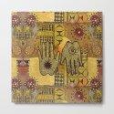 African Ethno Pattern Hand Symbol by lebensart