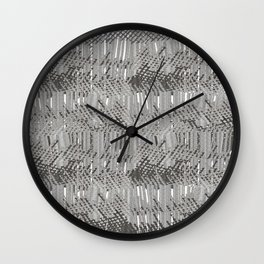 Gray abstract background Wall Clock