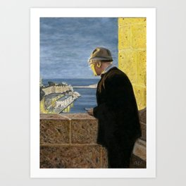 Grand Harbour View, Valletta, Malta Art Print