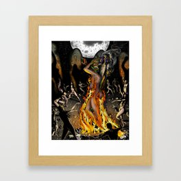 The Jackal Ritual Framed Art Print