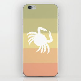 Out At Sea Series - Sideways and Crabby iPhone Skin