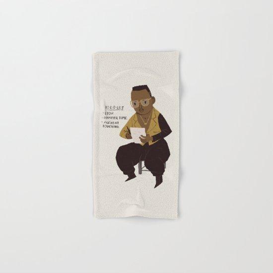 hammer to do list Hand & Bath Towel