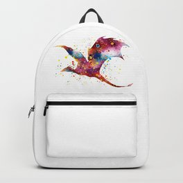 Dragon Art Colorful Watercolor Art Gift Dungeon and Dragons Fantasy Art Kids Gifts Backpack