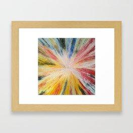 Nova Explosion Framed Art Print