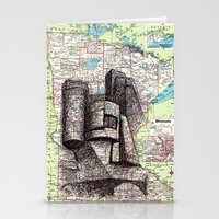 minnesota Stationery Cards featuring Minnesota by Ursula Rodgers