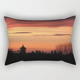 Sunset Over Ingoldisthorpe Rectangular Pillow