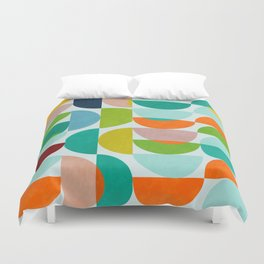 shapes abstract III Duvet Cover