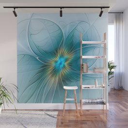 The little Beauty, Abstract Fractal Art Wall Mural