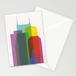 Shapes of Nashville Stationery Cards
