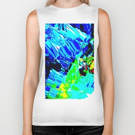 Pop Winter Fields Biker Tank