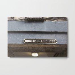 World's End Close 2 Metal Print