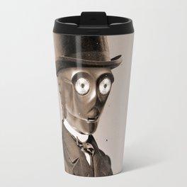 Portrait of Sir C-3PO Travel Mug