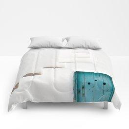 Minimalist Greek Architecture, Sifnos island Comforters