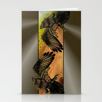 raven Stationery Cards featuring Raven by Alohalani