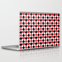 suits Laptop & iPad Skins featuring French Suits by Jennifer Agu