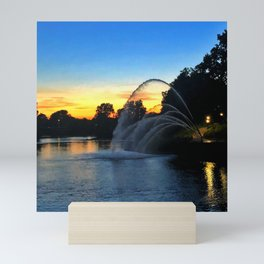 Thames River from London, Ontario Mini Art Print