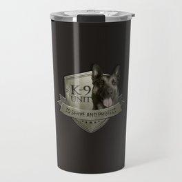 K9 Unit  - Malinois Belgian shepherd -Mechelaar Travel Mug