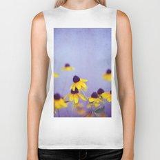 Lilac and Yellow Biker Tank