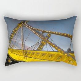 The Albert Bridge London Rectangular Pillow