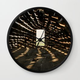 Who Needs Air Conditioning? Wall Clock