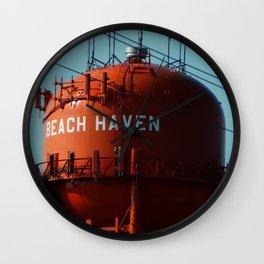 Beach Haven Wall Clock
