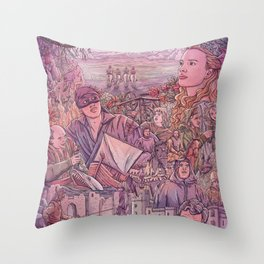 The Princess Bride Throw Pillow